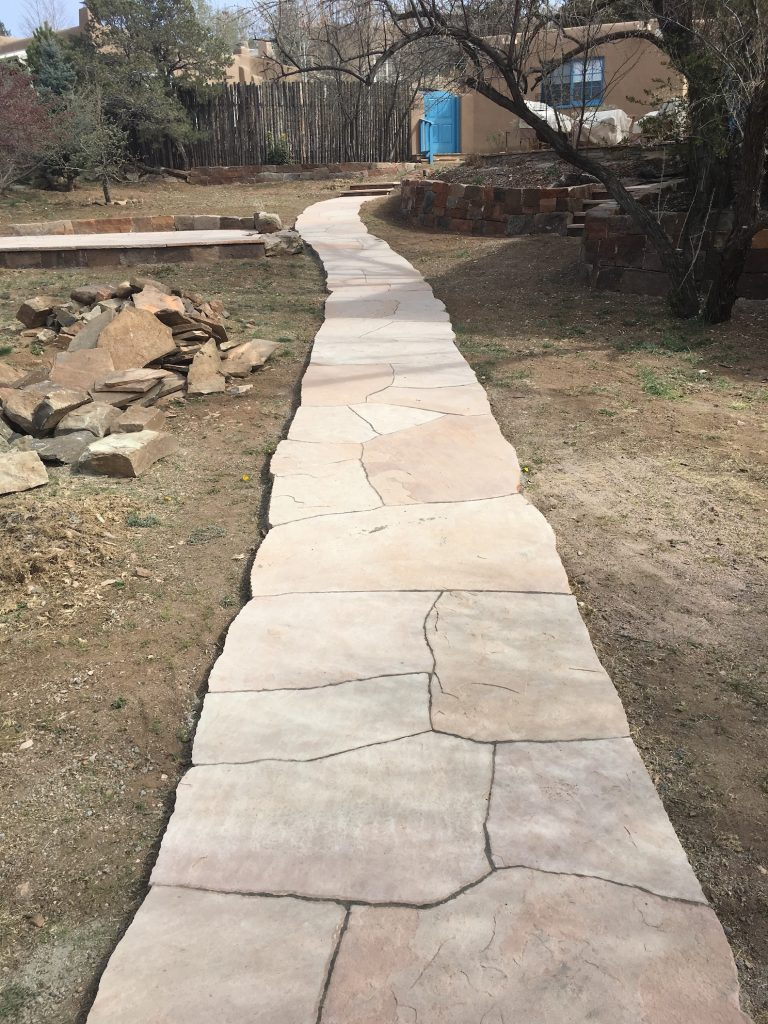 Flagstone path copy